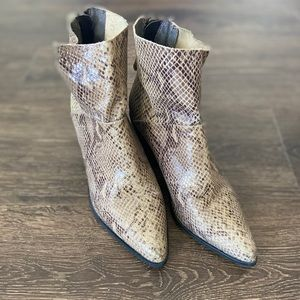 Top shop ankle snake boots